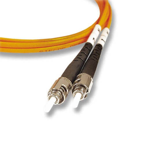 st-st fiber optic patch cord